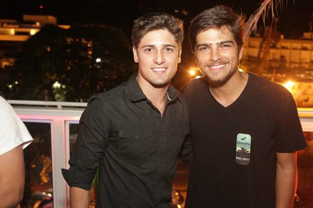 Bernardo Mesquita e Daniel Rocha (Foto: Marco Macedo/ Divulgação)