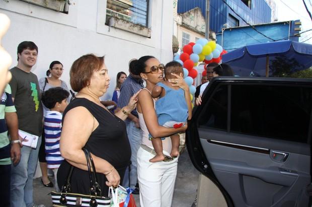 Tais Araujo e Lazaro Ramos (Foto: Alex Palarea e Daniel Delmiro/AgNews)