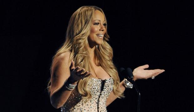 Mariah Carey no BET Awards, em Los Angeles, nos Estados Unidos (Foto: Reuters/ Agência)