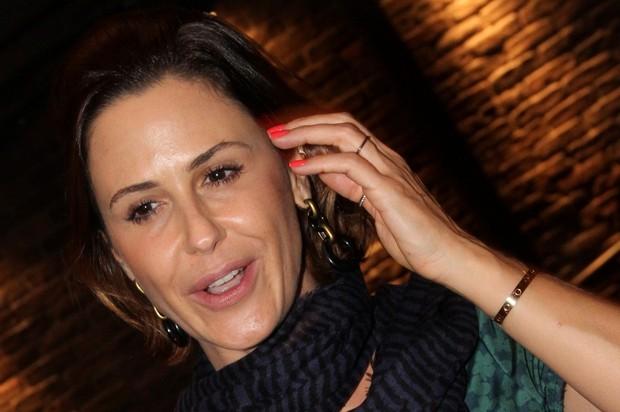 Guilhermina Guinle em show no Rio (Foto: Roberto Filho/ Ag. News)