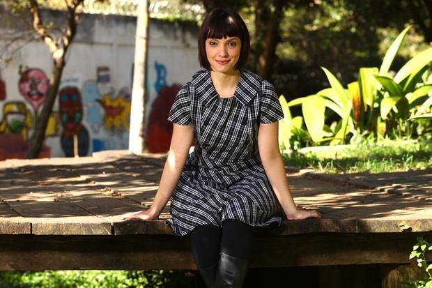 Cynthia Falabella posa para o EGO (Foto: Iwi Onodera / EGO)