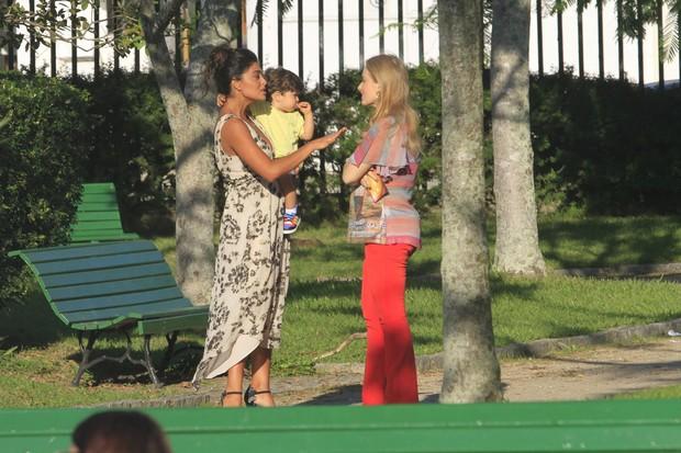 Angelica e Juliana Paes (Foto: Jeferson Ribeiro/AgNews)