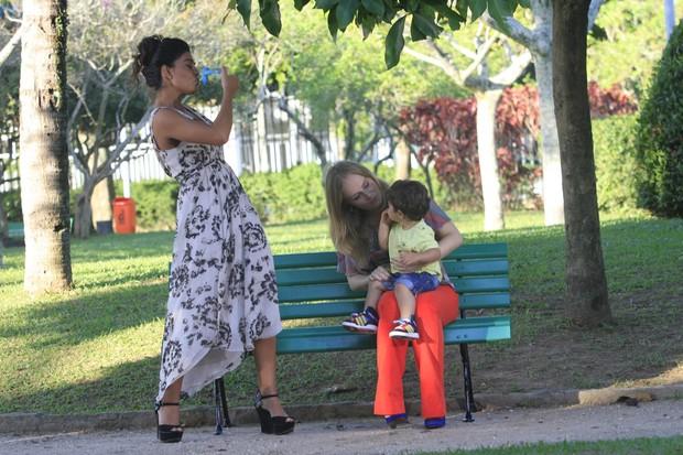 Angélica e Juliana Paes (Foto:  Jeferson Ribeiro)