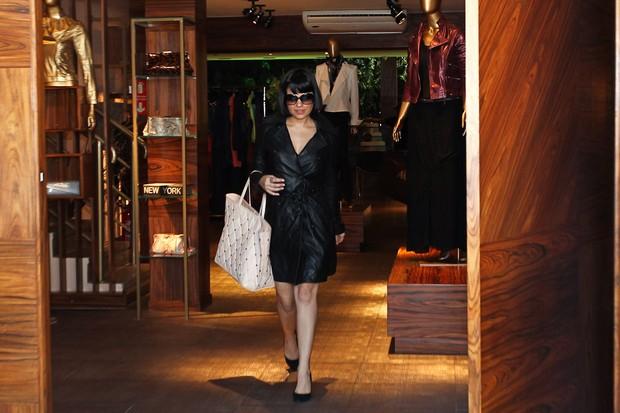 Vanessa Giacomo em SP (Foto: Manuela Scarpa/Fotorio News)