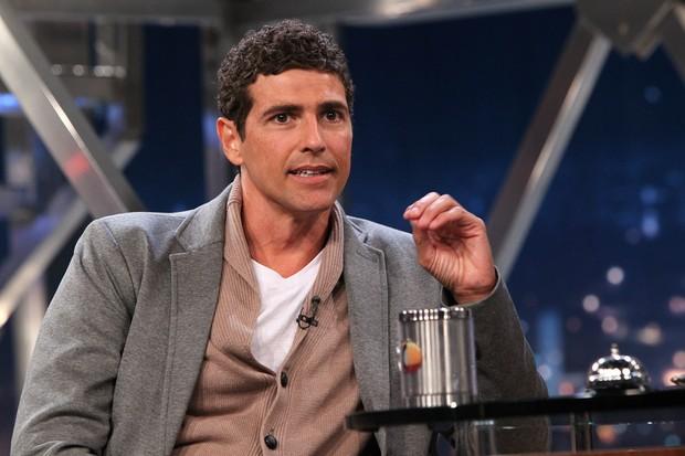 Reynaldo GIanecchini no Programa do Jô (Foto: Manuela Scarpa / Foto Rio News)