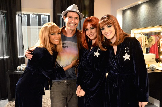 Reynaldo Gianecchini grava 'Cheias de Charme' (Foto: Raphael Dias/ Tv Globo)