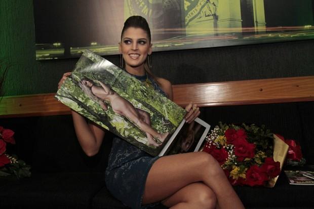 Mari Paraíba lança ensaio nu em boate no Rio (Foto: Isac Luz/ EGO)