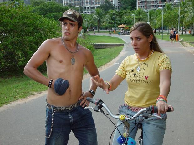 Heloísa Perissé em cenas de 'O Diário de Tati' (Foto: Estevam Avellar / Divulgação)