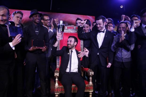 Cerimônia da festa de encerramento 'Diageo World Class 2012', maior concurso de coquetelaria do mundo, no Rio (Foto: Felipe Assumpção/ Ag.News)