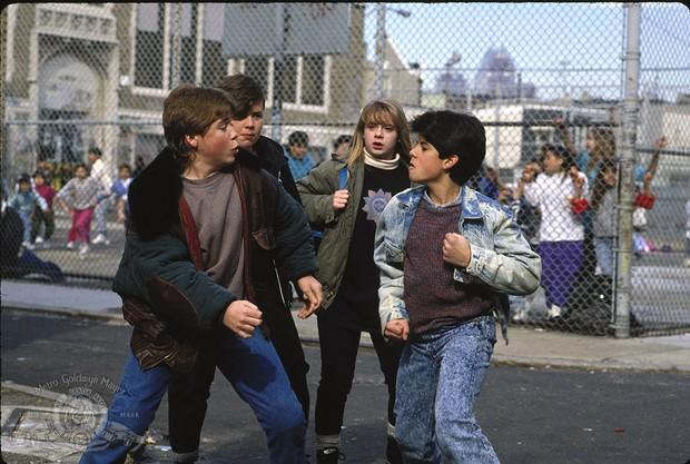 Sage Stallone no filme 'Rocky V' (Foto: Reprodução)