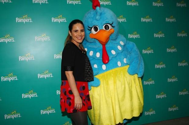 Wanessa na estreia do espetáculo 'A Galinha Pintadinha', em São Paulo (Foto: Iwi Onodera/EGO)