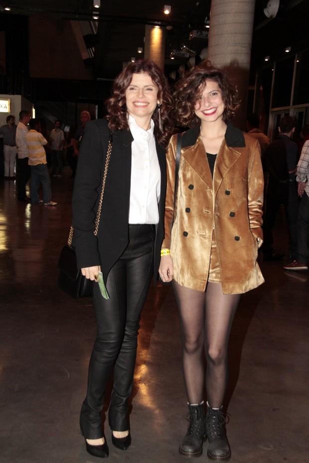 Debora Bloch e Olivier Anquier Debora Bloch e a Filha