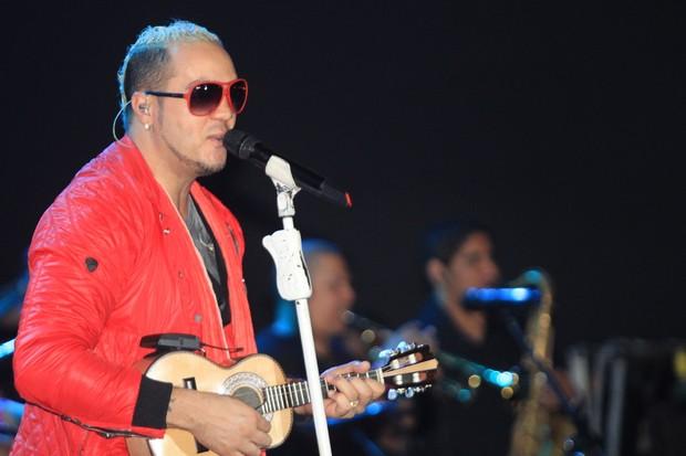 Belo em show em Salvador (Foto: Sercio Freitas - AgFPontes/ Divulgação)