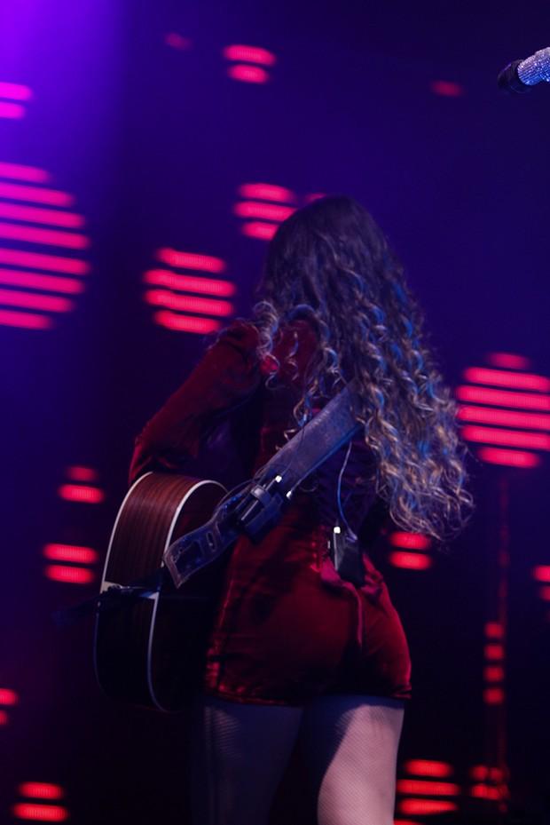 Paula Fernandes se apresenta em SP (Foto: Milene Cardoso/AgNews)