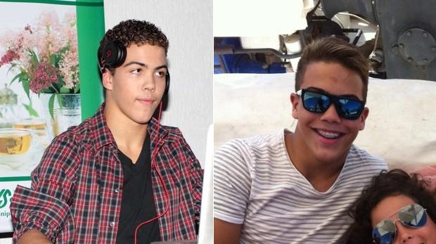 Ronald antes e depois (Foto: Orlando Oliveira/ Ag.News/ Twitter / Reprodução)
