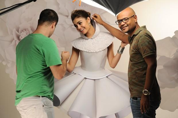 Sophie Charlotte posa para campanha de marca de acessórios (Foto: Luciana Prezia / Divulgação)