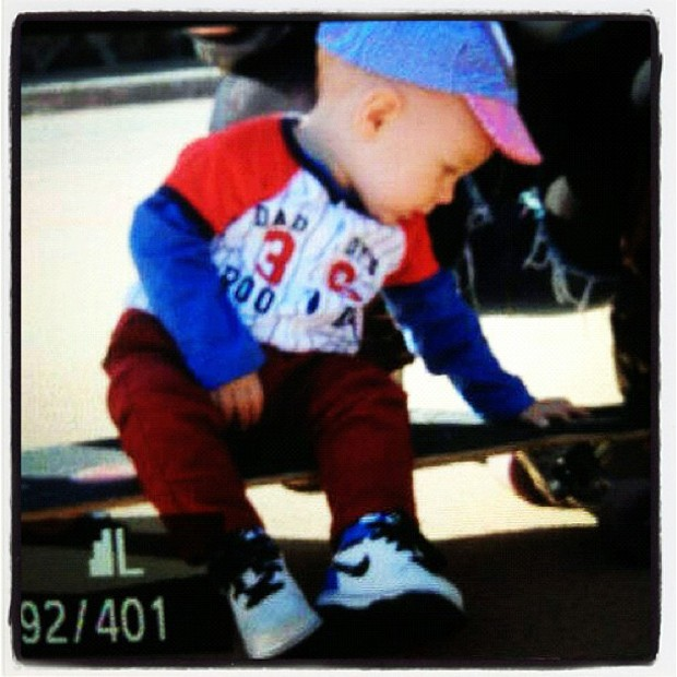Neymar posta foto do filho (Foto: Instagram / Reprodução)