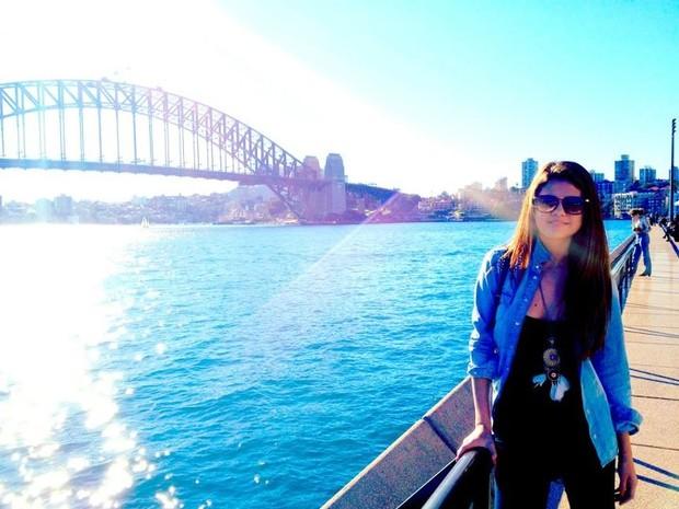 Selena Gomez em Sydney, na Austrália (Foto: Facebook/ Reprodução)