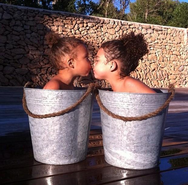 Maria Sophia e Maria Alice (Foto: Reprodução/ Instagram)