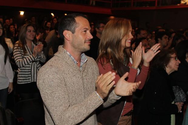 Sophie Charlotte e Malvino Salvador em peça no Rio (Foto: Raphael Mesquita/ Foto Rio News)