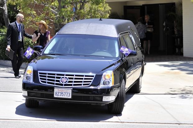 Funeral de Sage Stallone (Foto: Agência/Getty Images)