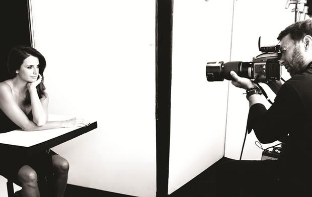 Penélope Crux posa para campanha (Foto: Divulgação)