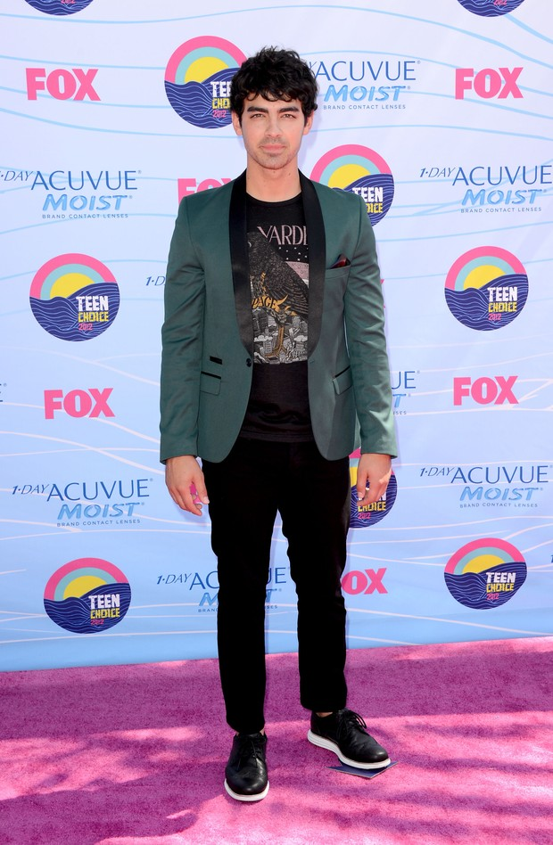 Joe JOnas (Foto: Agência/Getty Images)