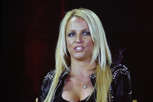 Britney Spears em coletiva de imprensa do &#8216;The X Factor&#8217; em Miami, nos Estados Unidos (Foto: Reuters/ Ag&#234;ncia)