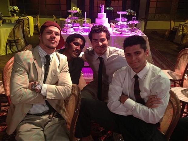 Bruno Gissoni, Thiago Martins e José Loreto (Foto: Instagram / Reprodução)