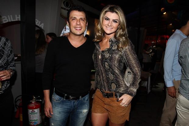 Ceará e Mirella Santos em festa em São Paulo (Foto: Manuela Scarpa/ Foto Rio News)