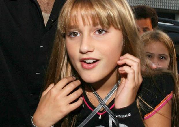 Sasha Meneghel completa 14 anos (Foto: Reprodução / Arquivo Pessoal)