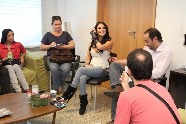 Dulce Maria, ex Rebelde (Foto: Thyago Andrade/Fotorio News)