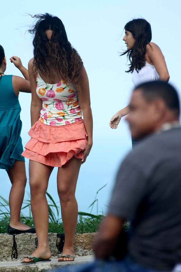 Debora Nascimento (Foto: Marcello Sá Barretto/ Foto Rio News)