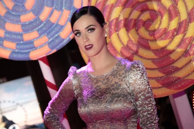 Katy Perry na pré-estreia de seu filme (Foto: Isac luz / EGO)
