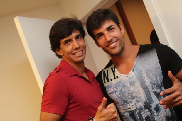 Diego Pombo e Victor Ramos (Foto:  Uran Rodrigues/ Divulga&#231;&#227;o)