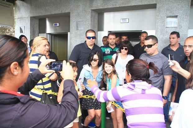 Katy Perry no Cristo Redentor (Foto: Foto Rio News)