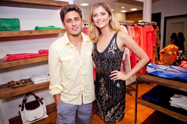 Daniel Rocha e Tammy Di Calafiori em evento de moda em Juiz de Fora, Minas Gerais (Foto: Wanderson Monteiro/ Divulgação)