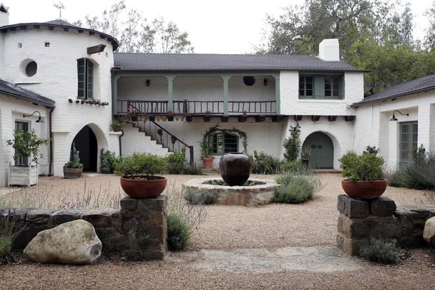 Rancho de férias de Reese Witherspoon na cidade de Ojai, na Califórnia, nos Estados Unidos (Foto: Grosby Group/ Agência)