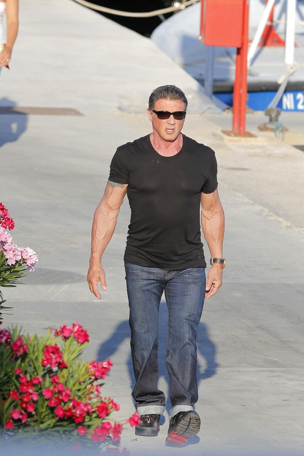 Sylvester Stallone (Foto: Agência Grosby Group)