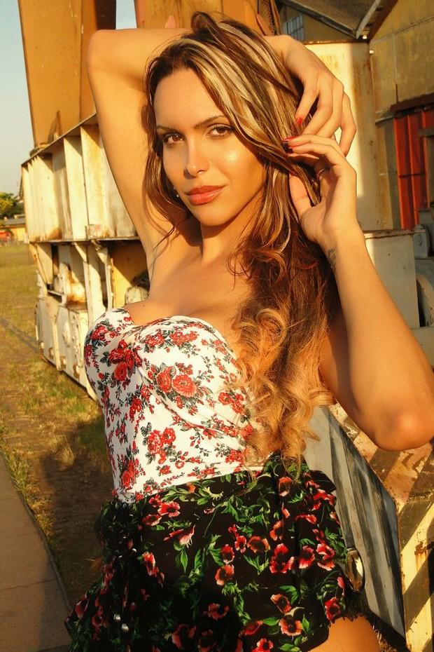 As cinco transexuais finalistas - Viviany Beleboni (Foto: Divulgação)