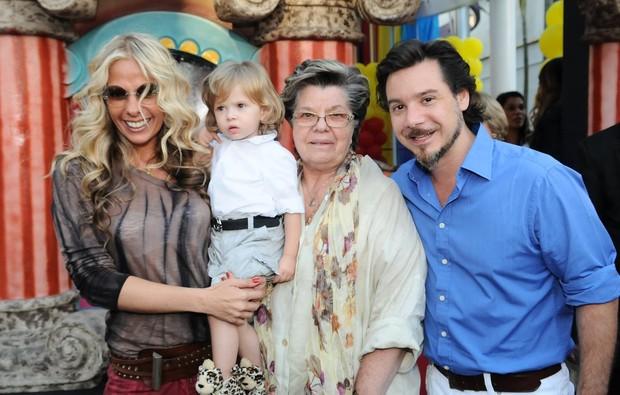 Galisteu, Vittorio, D. Emma e Iodice (Foto: Francisco Cepeda/ Ag. News)