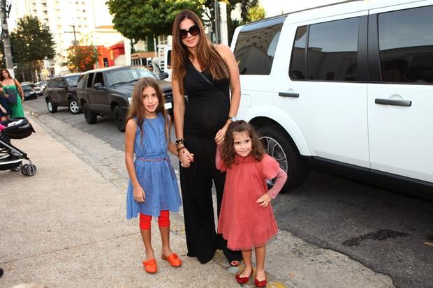 Vera Viel, Maria e Clara (Foto: Iwi Onodera/ EGO)
