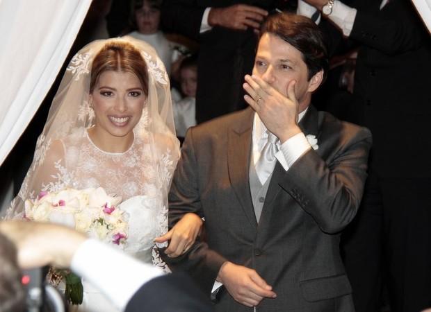 Casamento Marcelo Serrado  (Foto: Isac Luz/ EGO)