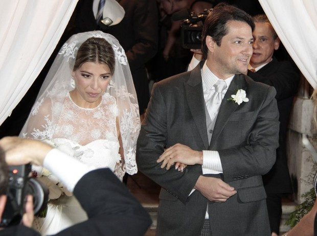 Marcelo Serrado se casa (Foto: Isac Luz/ EGO)