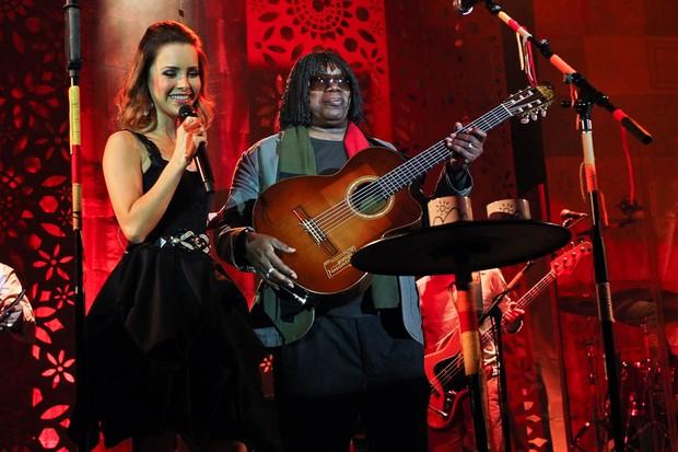 Sandy se apresenta ao lado de Milton Nascimento (Foto: Manuela Scarpa/Foto Rio News)