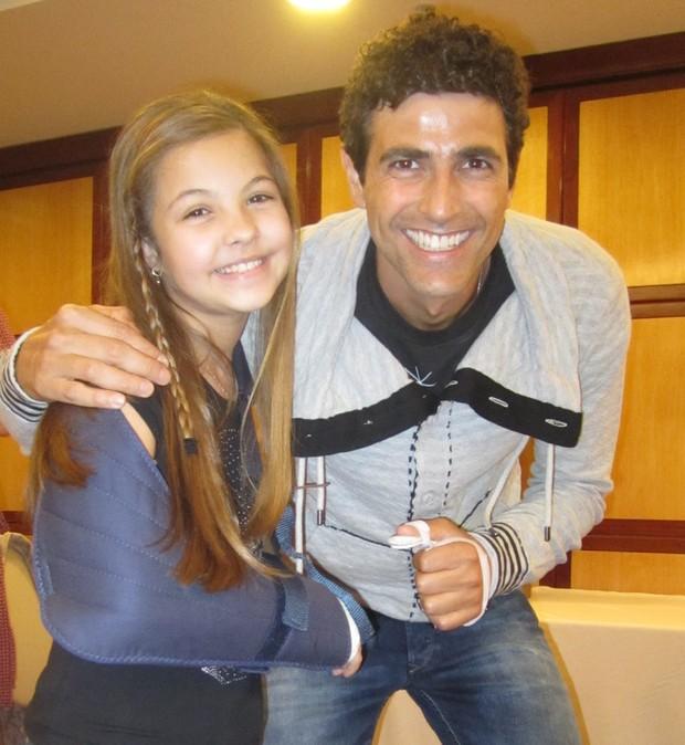 Julia Gomes e Reynaldo Gianecchini (Foto: Divulgação)