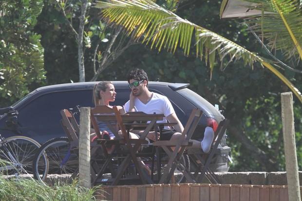 Rodrigao e Adriana no Rio (Foto: Delson Silva/AgNews)