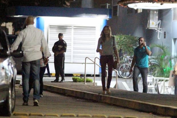 Sasha saindo de um shopping no Rio (Foto: Marcus Pavão / AgNews)