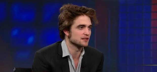 Robert Pattinson (Foto: The Daily Show with Jon Stewart/Reprodução)
