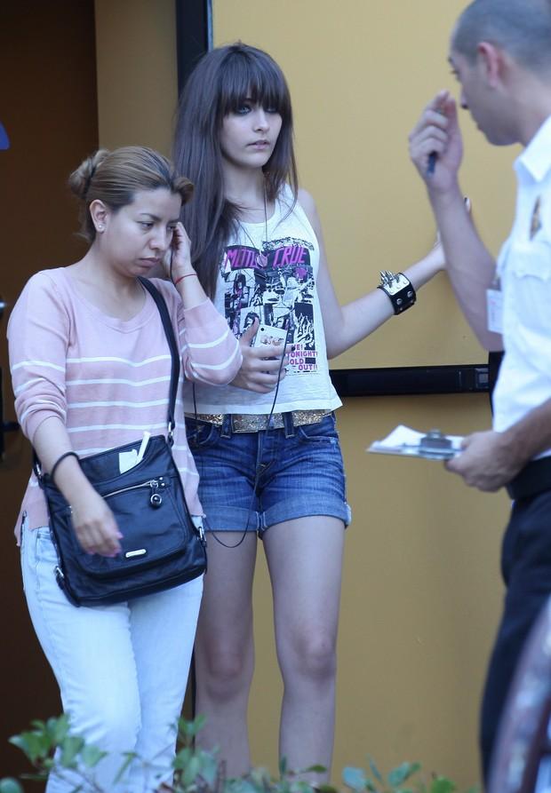Paris Jackson, filha de Michael Jackson, cresceu! (Foto: X17 / Agência)